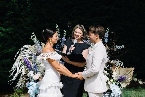 Weddings with Melbourne Celebrant Meriki Comito