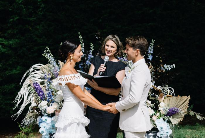 Getting married with Melbourne marriage celebrant Meriki Comito