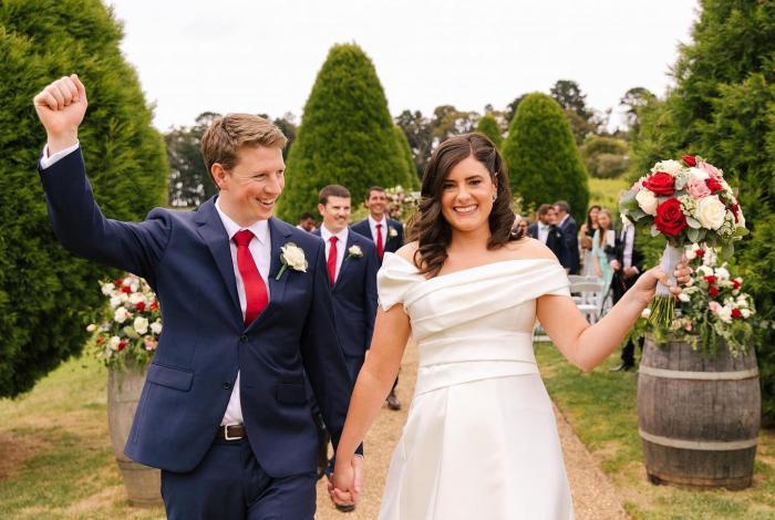 Lindenderry estate Red Hill Wedding